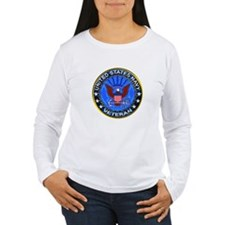 Blue US Navy Veteran Eagle T-Shirt