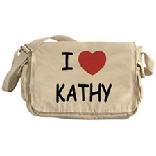 I heart KATHY Messenger Bag