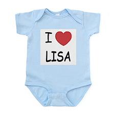 I heart LISA Infant Bodysuit