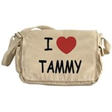 I heart TAMMY Messenger Bag