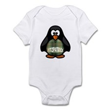 Fitzpatrick Tartan Penguin Infant Bodysuit