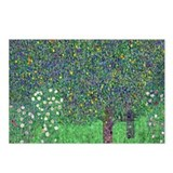 Klimt - Rosebushes Postcards (Package of 8)