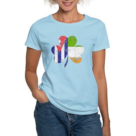 69 Mini Women's Plus Size V-Neck Dark T-Shirt