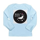 Slug Queen Logo Long Sleeve Infant T-Shirt
