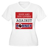 Dog Lovers Unite Against Romney! T-Shirt