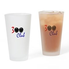 Exclusive: 300 Bowler Club! Drinking Glass