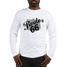 Route 66 Weatherboard Long Sleeve T-Shirt