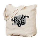 Route 66 Weatherboard Tote Bag