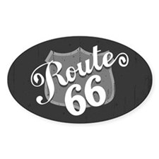 Route 66 Weatherboard Decal