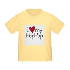 I Love my PopPop T