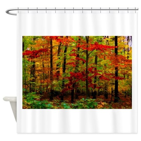 Autumn Leaves Shower Curtain By Segalasphotography