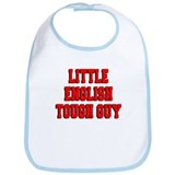 Little English Tough Guy Bib