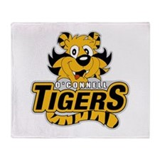 O'Connell Tiger Logo Throw Blanket