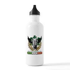 Irish Power Hour Logo Water Bottle