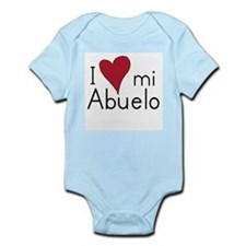 I Love mi abuelo Infant Creeper
