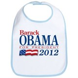 Barack Obama for President 2012 Bib