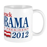 Barack Obama for President 2012 Coffee Mug