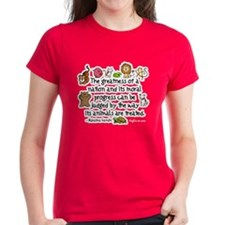 Cute Gandhi quotes Tee