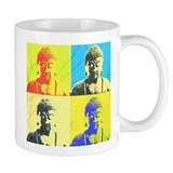 Pop Art Buddha Mug