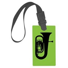 Tuba Player Gift Luggage Tag