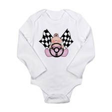Racing baby Long Sleeve Infant Bodysuit