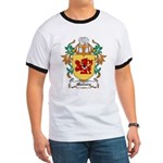 Mallory Coat of Arms Ringer T