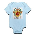 Mallory Coat of Arms Infant Creeper