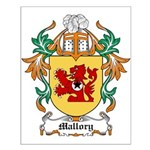 Mallory Coat of Arms Small Poster