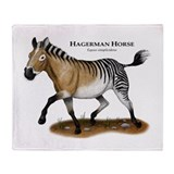 Hagerman Horse Throw Blanket