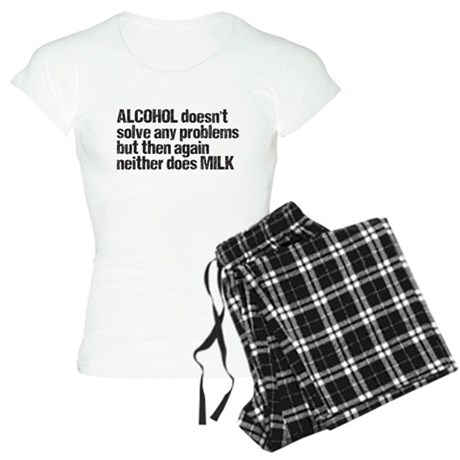 alcohol milk Women's Light Pajamas