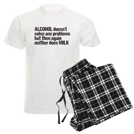 alcohol milk Men's Light Pajamas