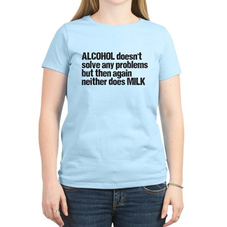 alcohol milk Women's Light T-Shirt