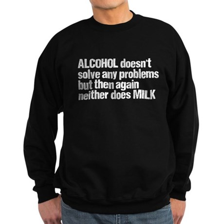 alcohol milk Sweatshirt (dark)