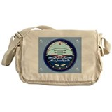 Art Horizon (blue) Khaki Map & Messenger Bag