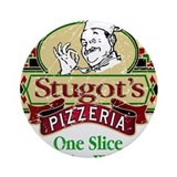 Stugot's Pizzeria Ornament (Round)