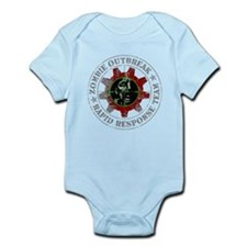 Zombie Outbreak Rapid Response Team Infant Bodysui