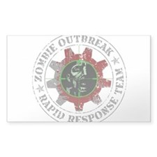 Zombie Outbreak Rapid Response Team Bumper Stickers