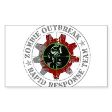 Zombie Outbreak Rapid Response Team Decal