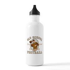 Old School Football Water Bottle
