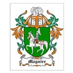 Maguire Coat of Arms Small Poster