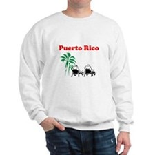 Cool Puerto rico, patillas Sweatshirt