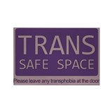 Classic Trans Safe Space Rectangle Magnet