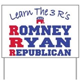 Romney Ryan Republican 2012 Yard Sign
