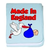 Made In England (Boy) baby blanket