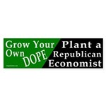 Grow Your Own Dope (Economist) Sticker