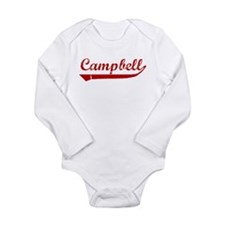 Cute Campbell Long Sleeve Infant Bodysuit