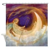 Moonboat to Dreamland Shower Curtain