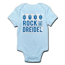 Cute Baby hanukkah Infant Bodysuit