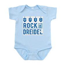 rock_dreidel_baby Body Suit