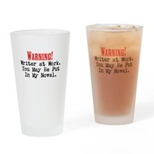 A Novel Threat Drinking Glass